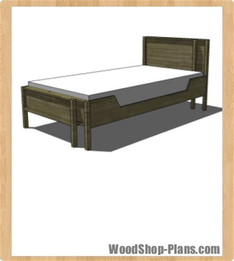 detail 4 post bed woodworking plans diy simple woodworking