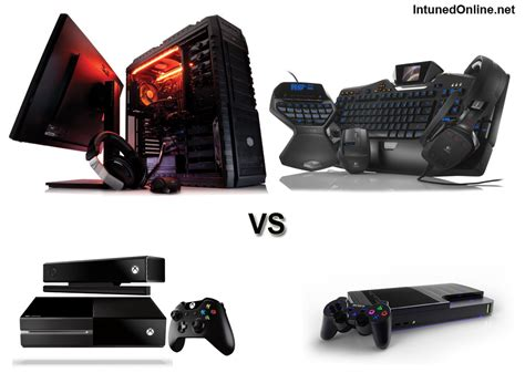 playstation 4 vs pc which is right for you pc vs xbox one vs ps4 consoles tech geek