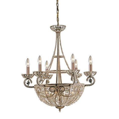 Chandelier Light Fixtures New 10 Light Chandelier Lighting Fixture Bronze Lead Elk Ebay