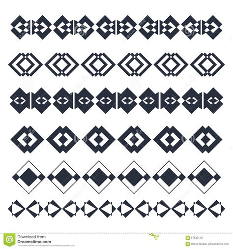 abstract geometric design elements vector vector line border design elements abstract geometric