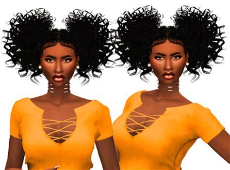 ebonix hair sims 4 my sims 4 blog tyla hair by ebonixsimblr