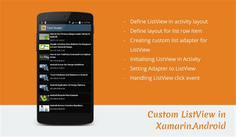 xamarin android listview layout listview exle in xamarin android stacktips