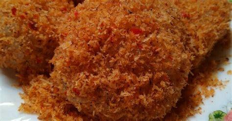 cara membuat nasi kuning beras ketan resep ketan bumbu serundeng oleh homsah artatiah cookpad