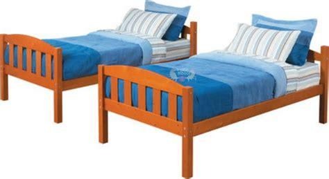Walmart Bunk Beds Canada with Walmart Canada Pine Bunk Bed Only 178 Bargainmoose Canada