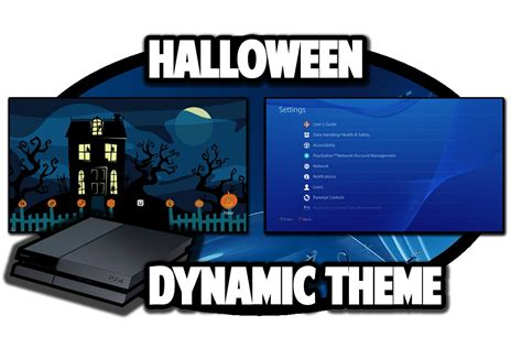 ps4 halloween themes ps4 themes halloween dynamic theme video in 60fps youtube