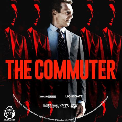 Dvd The Commuter 2018 the commuter dvd label cover addict free dvd and bluray covers