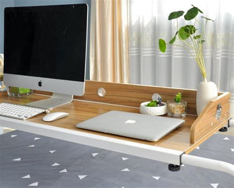 table to eat in bed bed sliding table lets you work and eat in bed