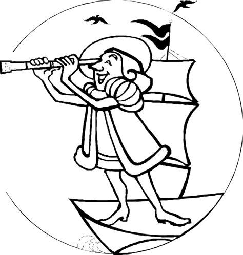 abcteach printable worksheet columbus coloring page