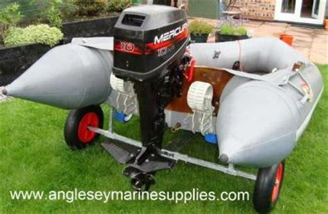 inflatable boat launch trolley plopping in the sea ribnet forums