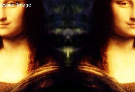 imagenes ocultas en la mona lisa descubren la figura de un ser extraterrestre oculto en la