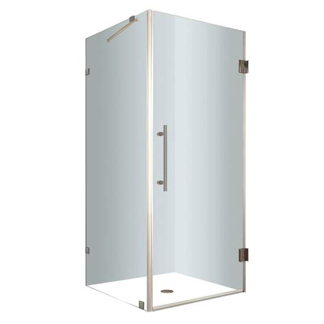 30 Inch Shower Stall by Aston Aquadica 30 Inch X 30 Inch X 72 Inch Frameless