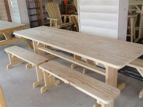 wooden picnic tables with separate benches wooden picnic tables with separate benches home design