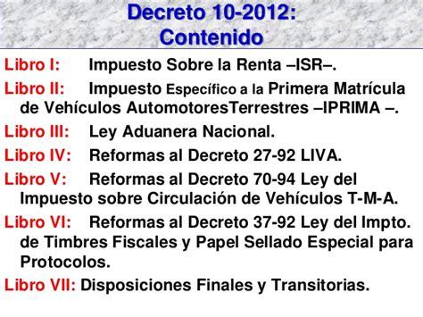 ley de impuesto sobre la renta isrl slideshare share the knownledge dto 10 2012 presentaci 243 n