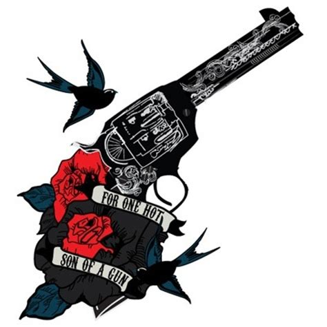 pictures of guns and roses tattoos guns sweet and guns and roses on