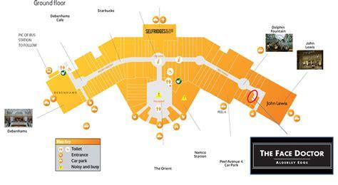 trafford centre floor plan trafford centre shops map my blog