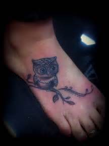 4 Piece Toaster Corner Tattoo Women Foot Owl Tattoos Picture