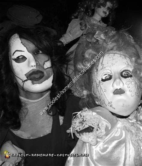 make a porcelain doll costume coolest creepy porcelain doll collection