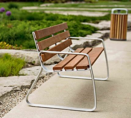 Landscape Forms Bench Fgp Bench Exterior Benches From Landscape Forms Architonic