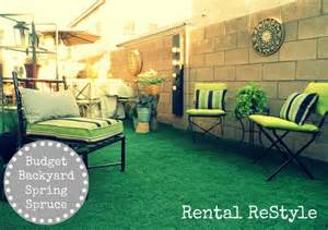 rent a backyard focal point styling rental restyle budget friendly
