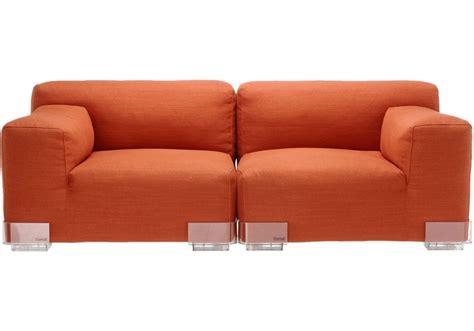plastic couches plastics duo sofa kartell milia shop