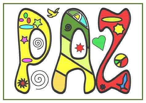 dibujos para todo dibujos de la paz imagenes dia de la paz colorear a4 12 orientaci 243 n