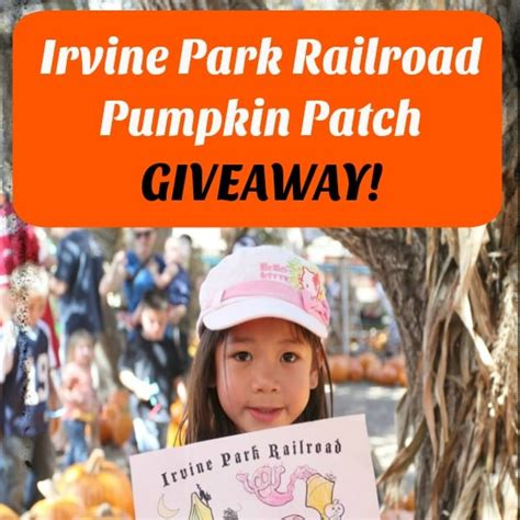 twitter john irvine park irvine park railroad pumpkin patch socal field trips