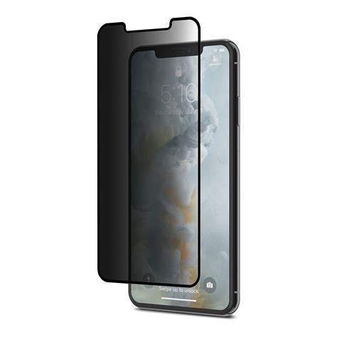 privacy glass screen protector for iphone xs max ionglass privacy by moshi