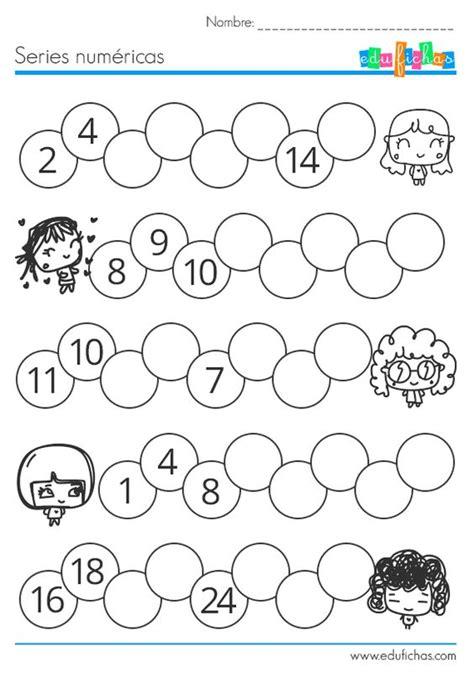 tarea de matem aticas para 3 grado ejercicio series numericas para ni 241 os numeros