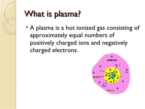 what is plasma matter the 4th state of matter plasma
