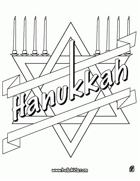 coloring page hanukkah free hanukkah coloring pages printable coloring home