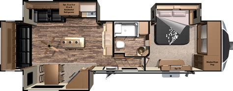 fifth wheel trailer floor plans 2016 open range 3x fifth wheels by highland ridge rv