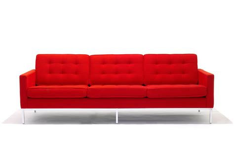 Knoll Sofas by Florence Knoll 3 Seat Sofa Hivemodern