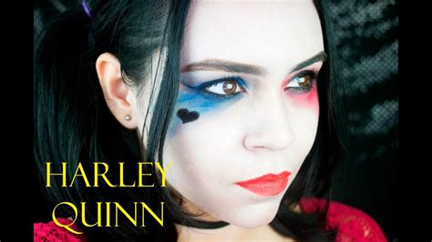 imagenes nuevas de harley quinn tutorial maquillaje de harley quinn para halloween youtube