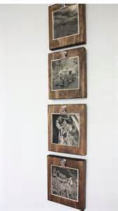 Photo Display Clips Set Of Four 4 Rustic Wall Clip Frame Picture Display
