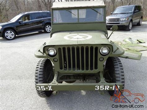 1942 Willys Jeep For Sale 1942 43 Willy S Jeep Completely Restored