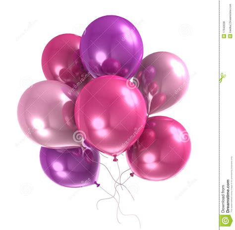 3d color helium balloon royalty free stock photos image 17940638