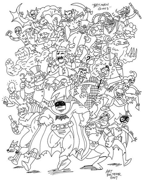 lots  huge coloring pages   superheros