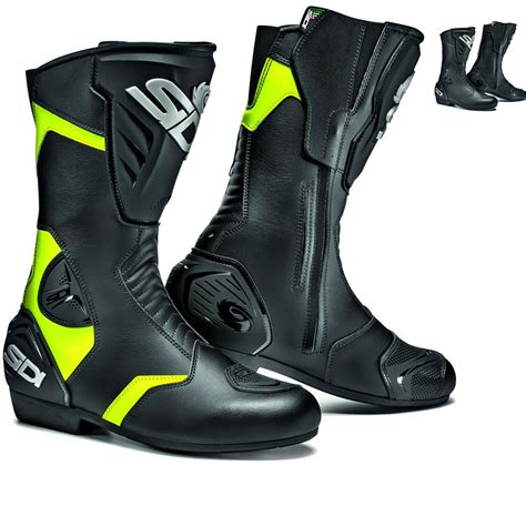 sidi motorcycle boots sidi black rain motorcycle boots touring boots