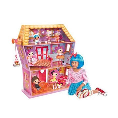 lalaloopsy dolls house lalaloopsy sew magical house doll house playset mga entertainment lalaloopsy