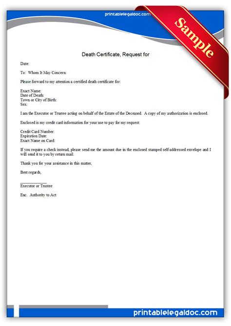 Certificate Of Weight Letter Of Credit Free Printable Certificate Request For Form Generic