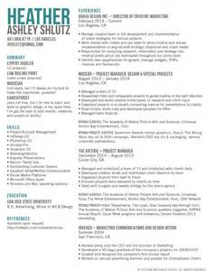 Advertising Agency Sle Resume by 1000 Ideas About Marketing Resume On Best