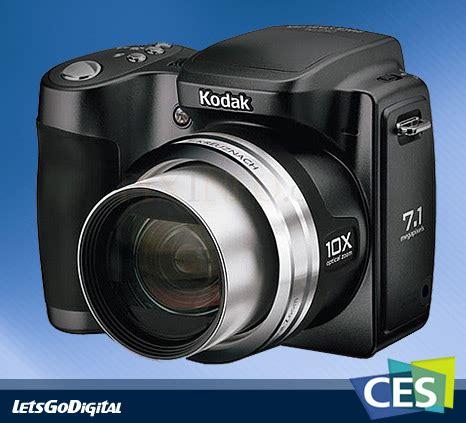 Ces 2008 Kodaks New Digital Cameras Including Touchscreen Easyshare V1273 by 2008 Ces Awards For Kodak