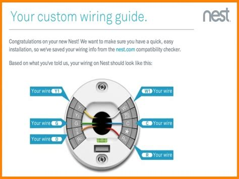 nest electric heat thermostat wiring diagram wiring