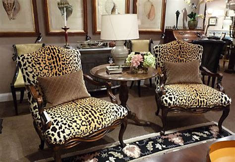 leopard print decor