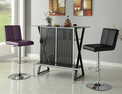 Vegas Storage Bar Table Black X Metal Bar Las Vegas Furniture Modern Home Furniture Cornerstone Furniture