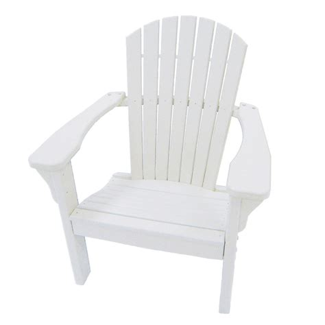 White Plastic Patio Chairs Shop Choice Furniture White Plastic Patio Dining Chair At Lowes