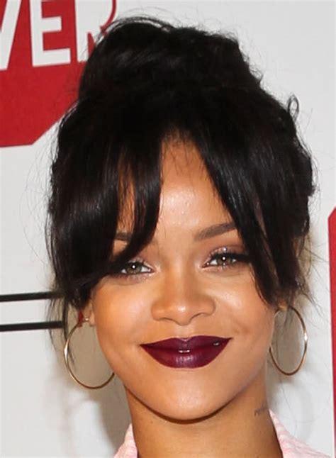 bun and bang hairstyle black women black hair bun with bangs hairstyles hairstyles