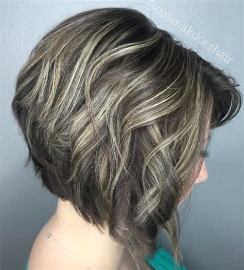 blonde bobs with brown lowlights 50 trendy inverted bob haircuts