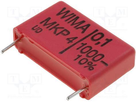 wima capacitor pdf mkp4g021002b00kssd wima capacitor polypropylene 10nf 7 5mm 177 10 3x8 5x10mm 55 247 100 176 cmkp4