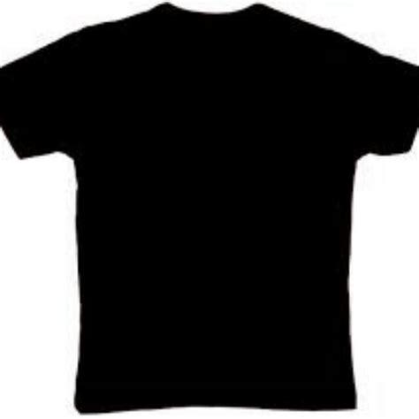 baju kaos polos hitam fesyen wanita pakaian wanita
